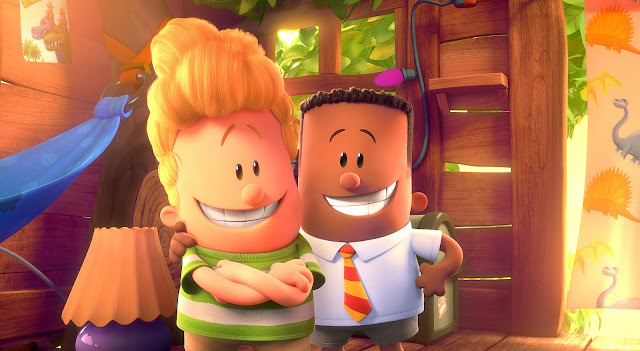 Captain Underpants movie review, Captain Underpants book, movies, kids, films