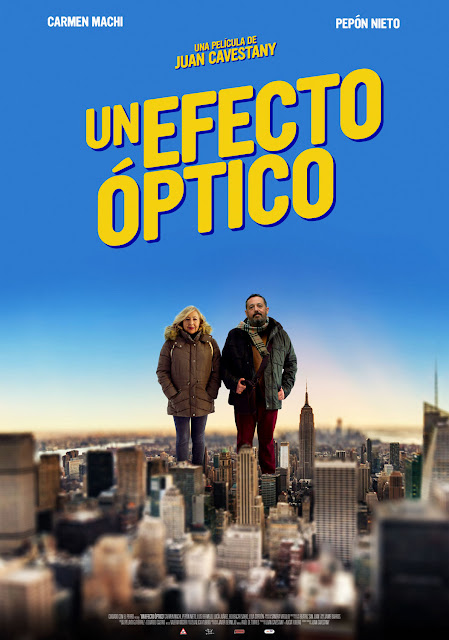 Cartel Un efecto óptico