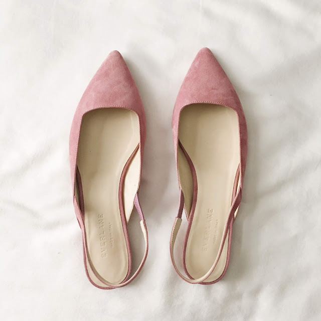 everlane editor slingback review