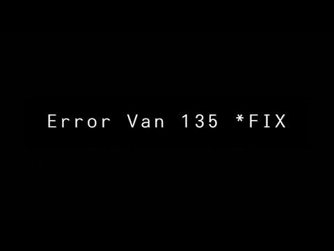 Valorant: Como corrigir o código de erro 135 da van