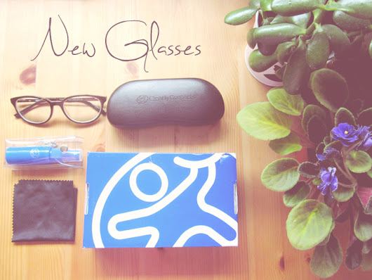 My New Glasses! ♥ ClearlyContacts.ca Review