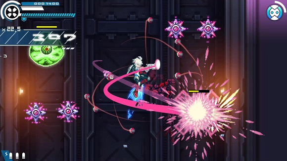 Use every tool at your disposal to soar through levels and crush the bosses that await yo Gunvolt Chronicles Luminous Avenger iX-CODEX