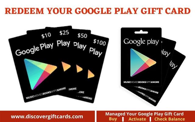 check google play gift card balance