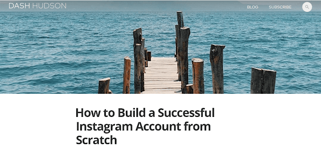 How to Build a Successful Instagram Account from Scratch