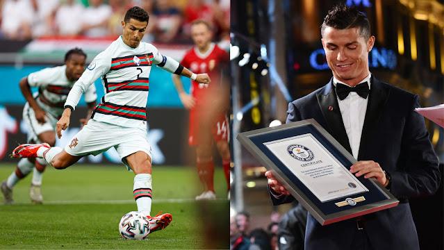 Guinness World Records Untuk Ronaldo Sebagai Penjaring Terbanyak Dalam Perlawanan Antarabangsa