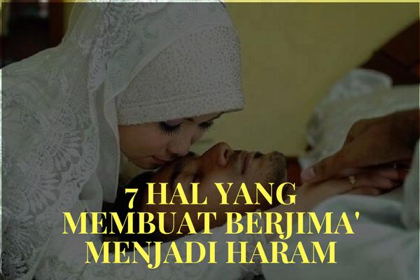 Naudzubillah, 7 Hal ini Membuat Berjima` Suami-Istri Menjadi Haram