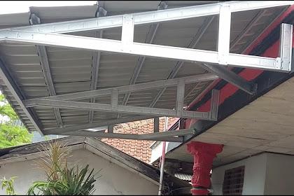harga kanopi baja ringan atap spandek