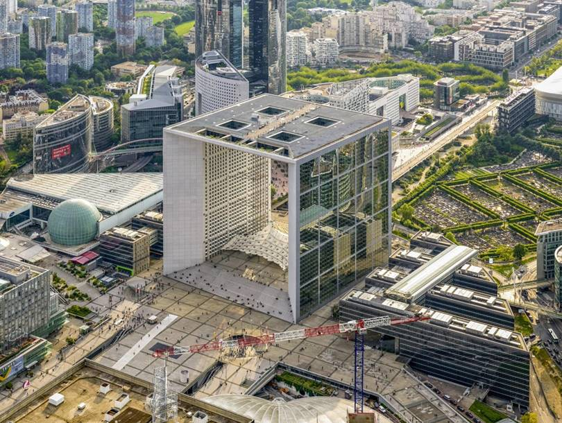 Aerial View of Paris | Jeffrey Milstein