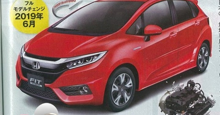 ... spy: 2017 - 2018 Honda Fit (Jazz) Facelift - With new 1.0 liter turbo