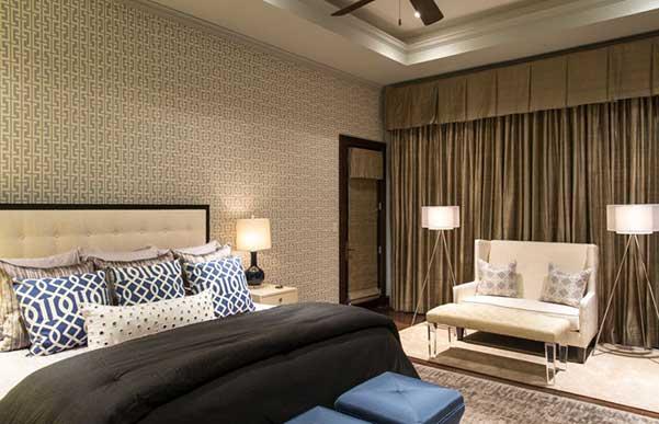 Decoraci 211 N Dormitorios 45 Dormitorios Con Papel Tapiz