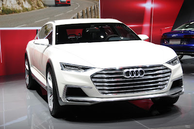 Audi Prologue Allroad: The All-Terrain concept