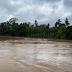 Reportan crecida del río Boba en Las Gordas de Nagua.