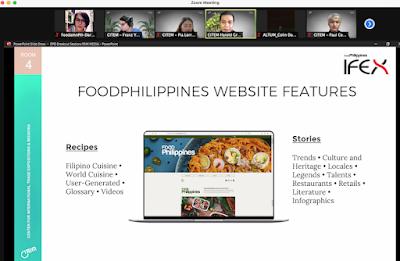CITEM Food Philippines website feature