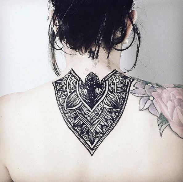 Back Neck Tattoos
