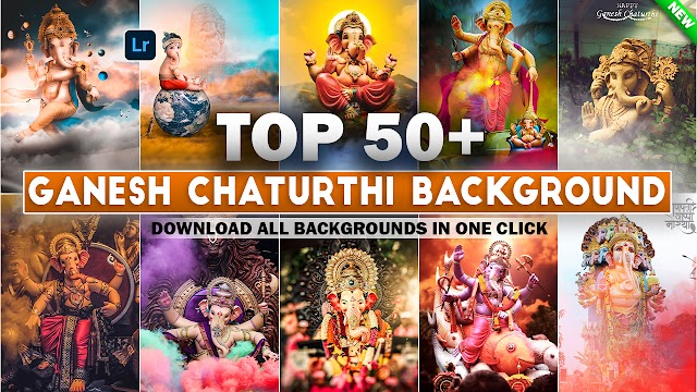 Top 50+ Ganesh Chaturthi Special Editing HD Background Download