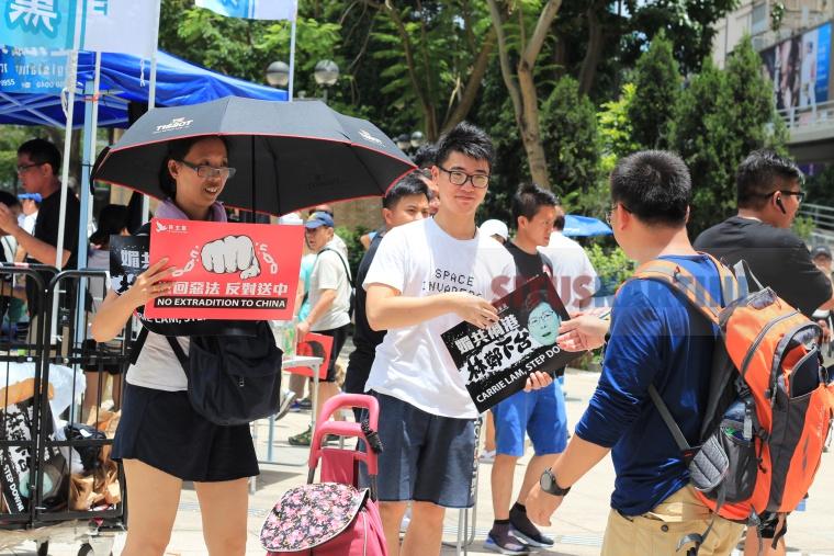 Masyarakat Hong Kong Bawai besar-besaran