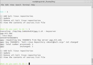 Cara Install dan Penggunaan katoolin di Ubuntu