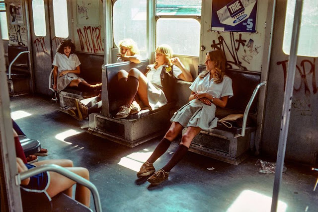 Awesome New York City Subway Photos circa 1970s and 1980s