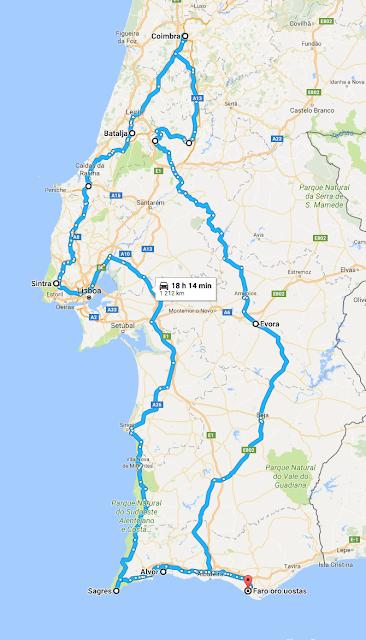 Faro Algarve Karta.Surask Ko Nepametus Ne Tik Apie Keliones Portugalija I Dalis