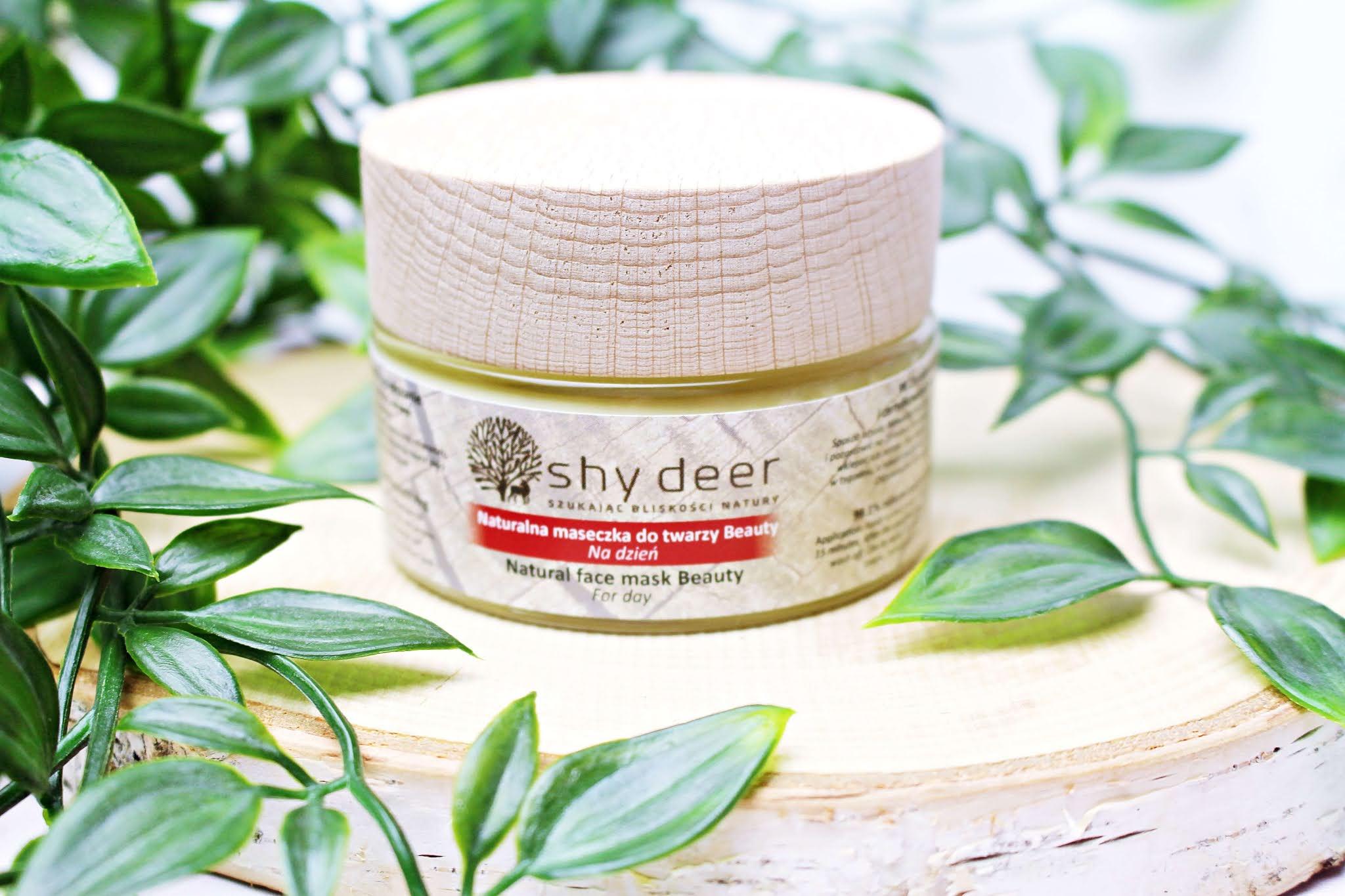 Shy Deer Naturalna maseczka do twarzy Beauty