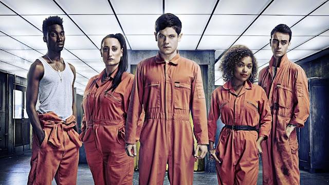 Protagonistas de 'Misfits'