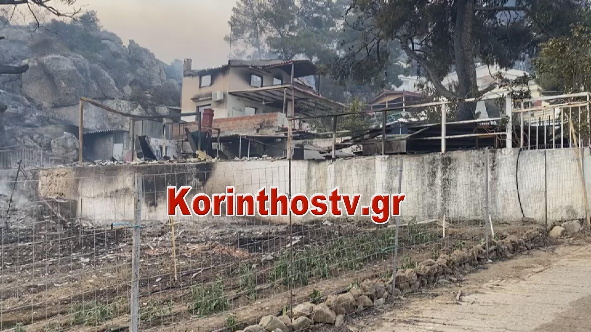 Ανεξέλεγκτη η φωτιά στην Κοκκιναρέα- Υποχωρούν οι πυροσβεστικές δυνάμεις