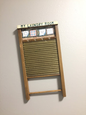 #millsnewhouse, washboard, laundry room, laundry wall art