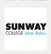 Info Pendaftaran Mahasiswa Baru Sunway College Johor Bahru 2017-2018