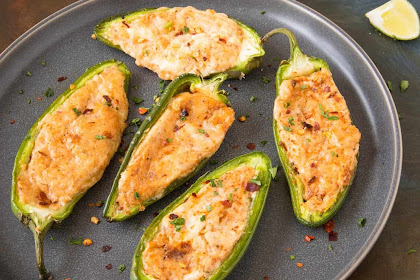 Baked Cream Cheese Jalapeno Poppers Recipe