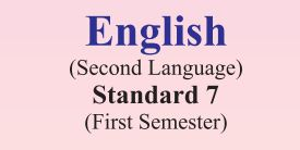 GSSTB Textbook STD 7 English Semester -1 Gujarati medium PDF | New Syllabus 2020-21 - Download
