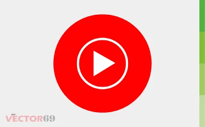 Youtube Music Icon - Download Vector File CDR (CorelDraw)