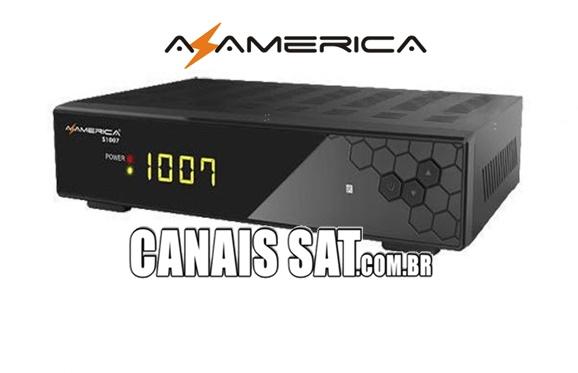 Azamerica S1007 HD Nova Atualização V1.09.21658 - 22/06/2020