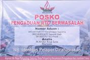 Posko Pengaduan Dugaan Penyalahgunaan Dana RTG Dibuka Gema Seleparang Bantu Warga.