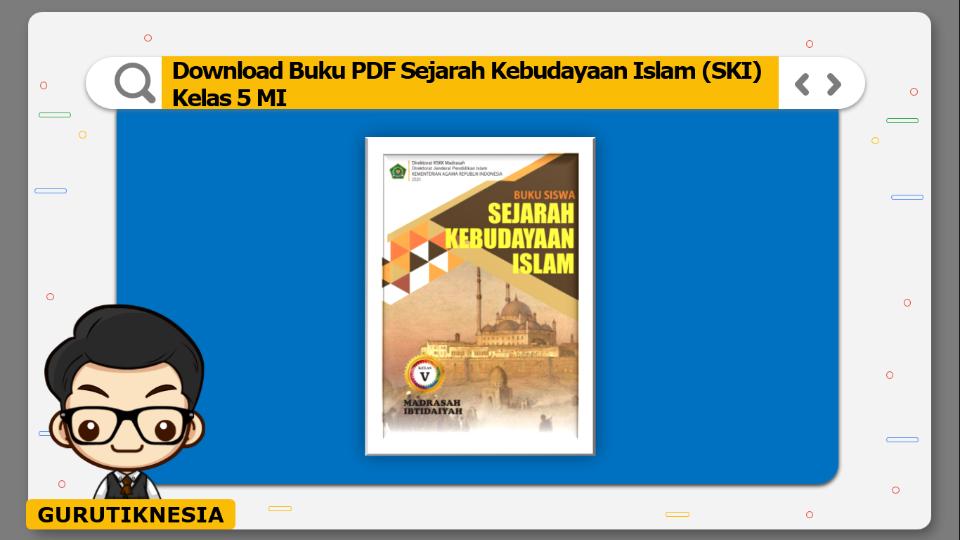 download buku pdf ski sejarah kebudayaan islam kelas 5 mi