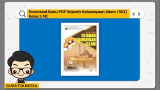 download ebook pdf  buku digital ski sejarah kebudayaan islam kelas 5 mi