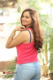 Tollywood Actress Ashwini Latest Stills in Ripped Jeans  0007.JPG