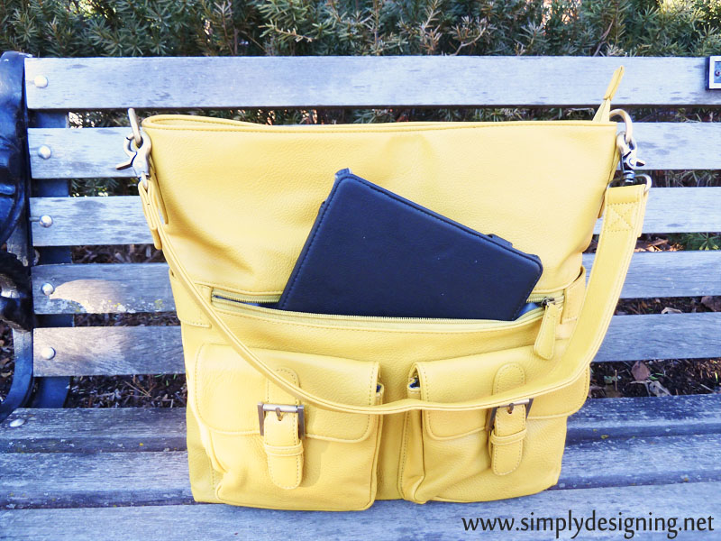 large camera bag with room for an iPad etc
