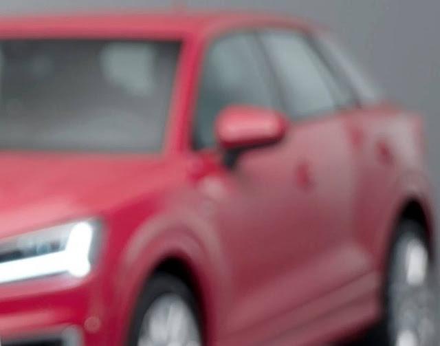 Novo Audi Q2 2017 - lateral