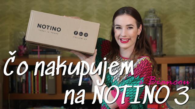 kozmetická objednávka z Notino