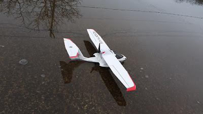 RC Flying from Snow and Water Parkzone Icon A5