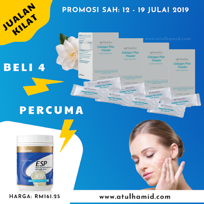 Promosi Collagen Shaklee 2019: Jualan Kilat