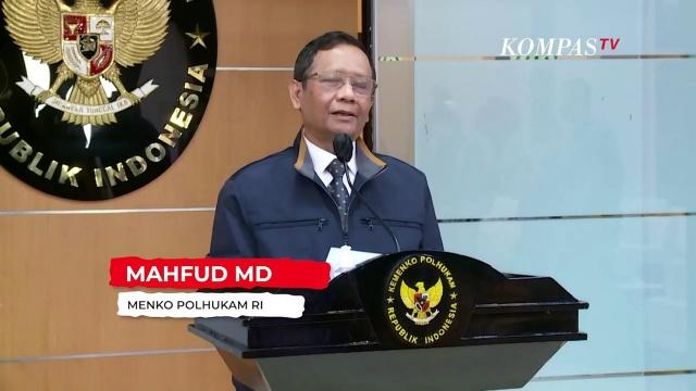Lebihi Era Soeharto, Mahfud MD:  Korupsi Semakin Meluas Setelah Reformasi