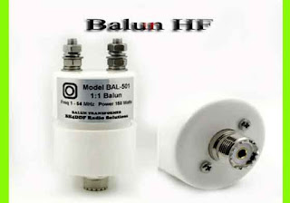 Antena HF dengan Balun