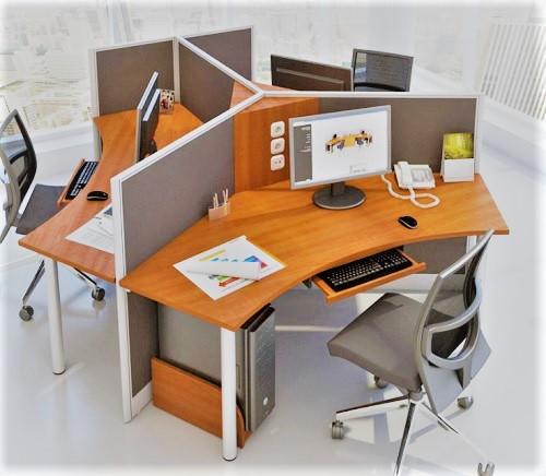 Partisi kantor Arkadia Furniture