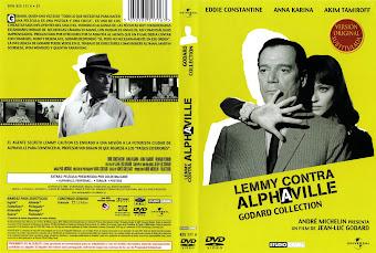 Carátula dvd: Lemmy contra Alphaville (1957)