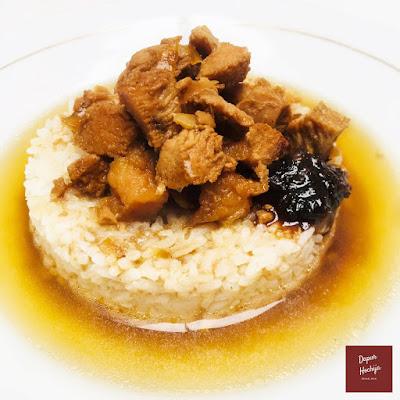 Nasi Bakmoy Ayam Udang
