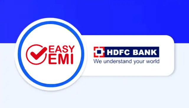 HDFC EasyEMI Offer