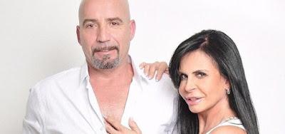 Carlos Marques e Gretchen ficaram juntos por sete anos e anunciaram o fim do casamento nesta segunda-feira (13)