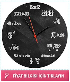 Matematikçiler İçin Duvar Saati