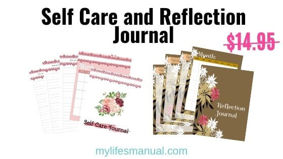 Self-Care journal and planner